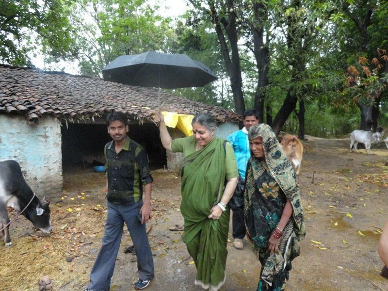 indian village  dr vandana shiva