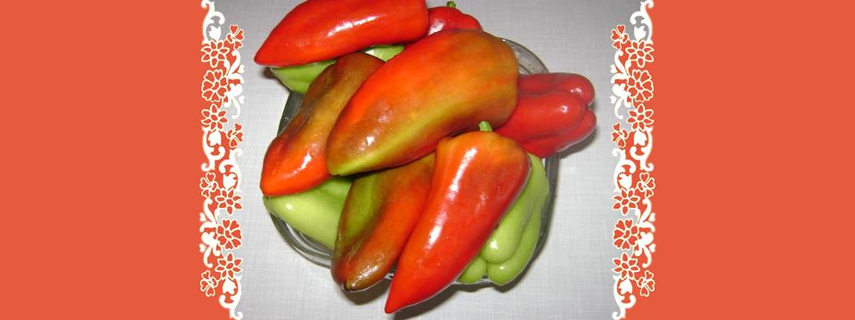 Салат из капусты и перцев